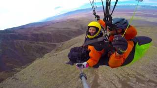 Highway 395: Paragliding Above Owens Valley | Sunset | Sunset