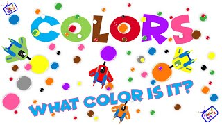 Colors for children-Los colores en inglés- Red Yellow Green Blue