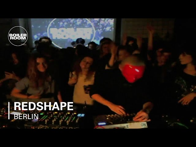 Video en directo de Redshape para Boiler Room Berlin Set