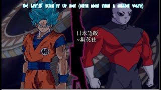 [ MAD ] Dragon  Ball Super Opening 6 , Let'Z Go ! Universal Tournament !
