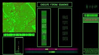 SCI FI Computer Screen #2 with sound