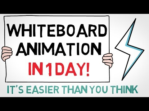 How to Create a Whiteboard Animation in ONE DAY