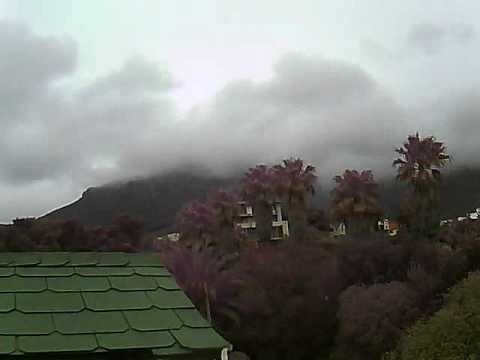 Timelapse Video – Table Mountain – 16/07/2010