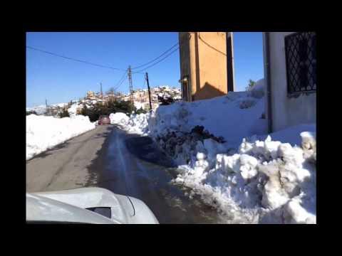 Ait Ali Ouharzoune sous la neige février 2012