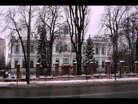 Киев (улицы, дома, парки). Kiev (sightseeings, streets, buildings, parks).