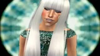 Lady Gaga POKER FACE sims 2