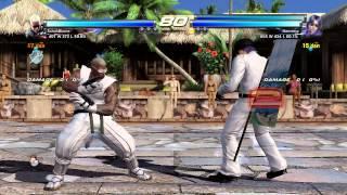 TTT2~ SchuhBlume (Raven) vs.  Hamseyy (Violet & Hwoarang) I  HD