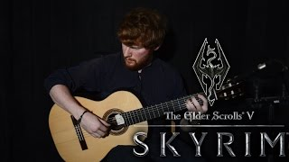 The Elder Scrolls V: Skyrim Main Theme (Sons of Skyrim) Guitar Cover + TABS | CallumMcGaw