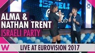 "Alma & Nathan Trent ""J'ai cherché"" (France 2016) LIVE @ The Israeli Party 2017"