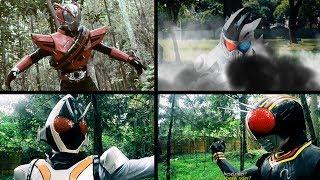 Fanmade Henshin Kamen Rider Compilation (drive,fourze,black,dangerous zombie)