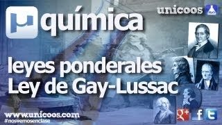 Imagen en miniatura para Ley de Gay-Lussac o de los volúmenes de combinación