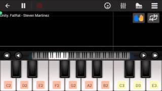 ✔Android Piano |The Fat Rat - Unity