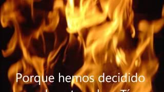 Fuego su presencia letra
