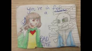 YOU'RE IN FOR A BAD TIME ll Undertale animation song