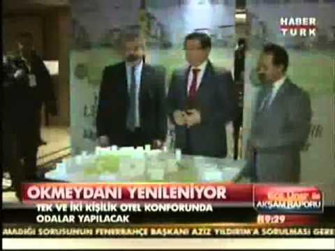 PROF. DR. ALİ İHSAN DOKUCU HABERTÜRK TV- OKMEYDANI  HASTANESİ YENİLENİYOR
