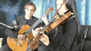 The Prayer (Andrea Bocelli and Celine Dion version) for classical guitar and violin