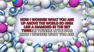 Twinkle Twinkle Little Star - Karaoke - Full HD