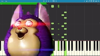 Tattletail Song - Let's Have Some Fun - TryHardNinja - Piano Cover / Tutorial
