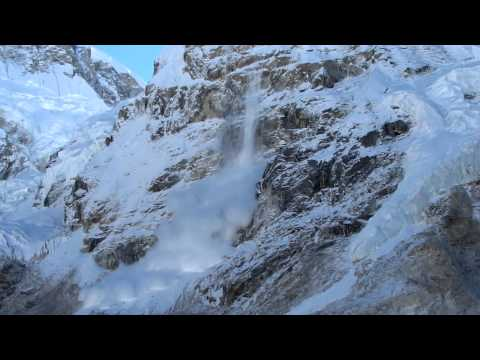 Avalanche at Everest Base Camp – October 25, 2011