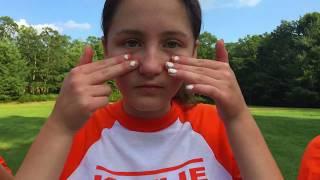 Kaylie Girls 2017: Orange Color War Video
