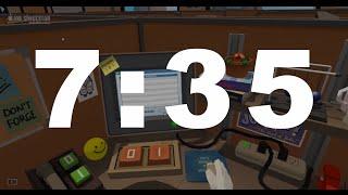 Speedrunning the Job Simulator Office in 7:35