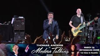 Seattle Mar 26 2017 - Thomas Anders & Modern Talking Band