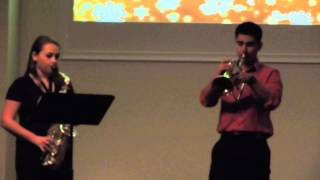 """The Prayer"" Alto Sax & Trumpet Duet"