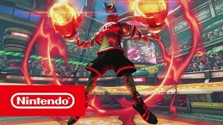 Switch Exclusive ARMS Update 3.2 Announced by Nintendo with Trailer