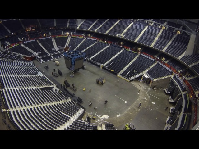 video timelapse philips arena