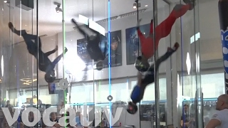 Indoor Competitive Skydiving As Cool As It Sounds