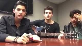 (MI PRIMER VIDEO) - Cnco - Erick , Joel y Zabdiel hacen un mix