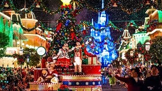 Neve na Disney na Festa de Natal do Mickey - Mickey's Very Christmas Party