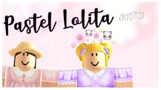 Pastel Lolita outfits (girls)