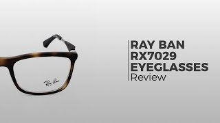 fef56d4a1e Ray-Ban RX7029 Active Lifestyle 2077 Eyeglasses in Matte Black ...