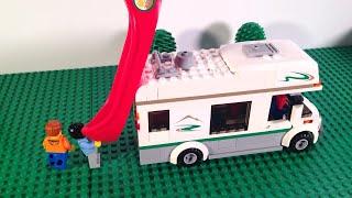 LEGO City Camper Van - 60057 Stop Motion Build - Review