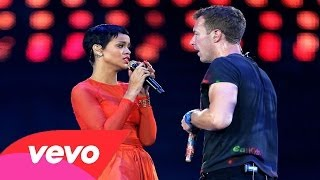 Rihanna ft.Coldplay ~ Princess Of China (Paralympic Closing Ceremony Live London 2012)