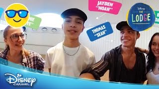 The Lodge | 360 VIDEO: Meet The Cast! | Official Disney Channel UK