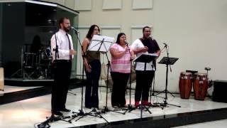 Quarteto Musicantus - A cruz concedeu paz (Vocal Livre)