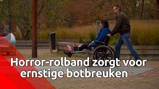Twee gedupeerden van rolband willen in actie komen.