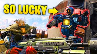 Unbelievably LUCKY 0.004% Chance Trick..!! - NEW Funny & Epic Moments | Apex Legends Montage #107