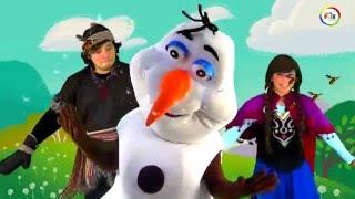 FROZEN: canción Verano Show infantil MUNDO FLIX Lima - Perú