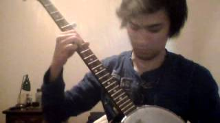 "Mumford & Sons ""Lover's Eyes"" Banjo Solo Cover"