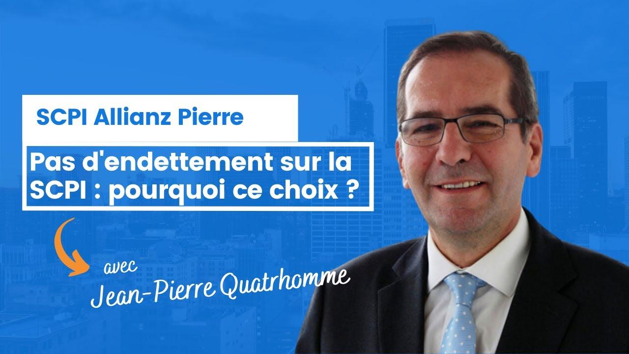 Pas d'endettement sur Allianz Pierre : pourquoi ce choix ?