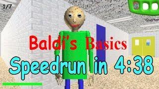 Baldi's Basics Any% Speedrun in 4:38.2