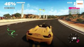 Forza Horizon - Viva Red Rock Festival Race