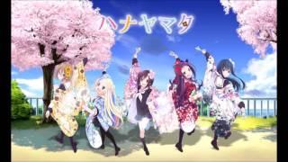 Hanayamata Opening ~ Hana wa Odoreya Irohaniho (Ft. Azusora & Sushamii) -  Anime Remix