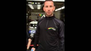 Danny Watts with StrakkaRacing (intro)