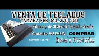 VENTA DE TECLADOS YAMAHA PSR 340 2013 -LIMA PERU