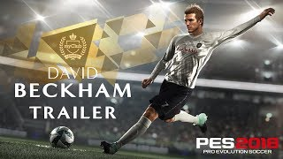 PES 2018 David Beckham Trailer