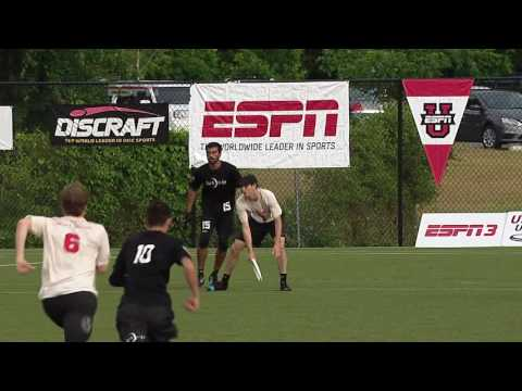 Video Thumbnail: 2016 College Championships, Men's Semifinal: Harvard vs. North Carolina